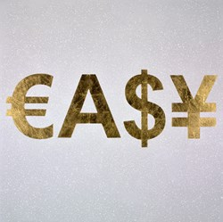 Easy by Rory Hancock -  sized 39x39 inches. Available from Whitewall Galleries